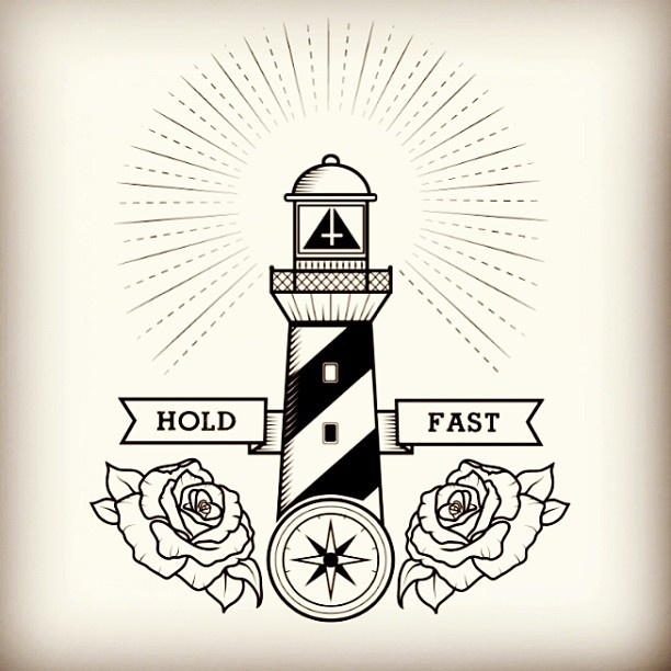 .@mortani1 | An illustration in progress for a tshirt for rimfrost clothing. lighthouse