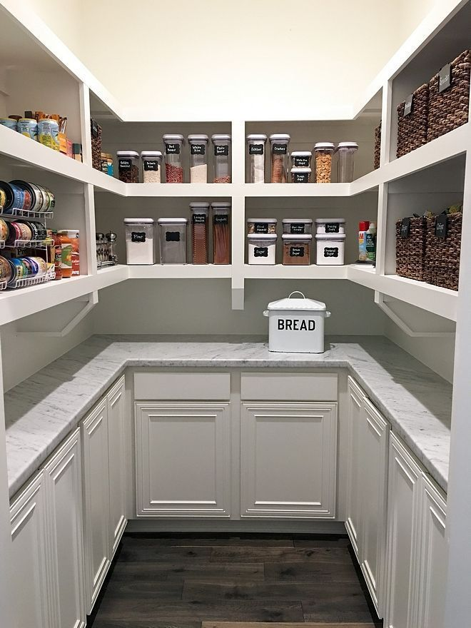 Kitchen Pantry Shelves Kitchen Pantry With Open Shelves Carrara