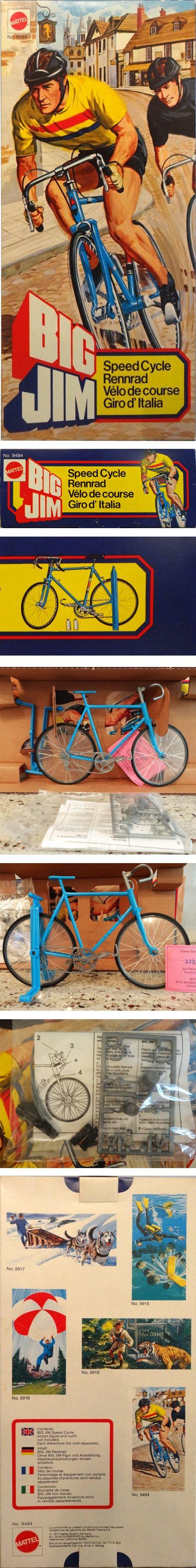 Big Jim / Speed cycle, Vélo de Course, Giro d'Italia (ref. 9484) by Mattel