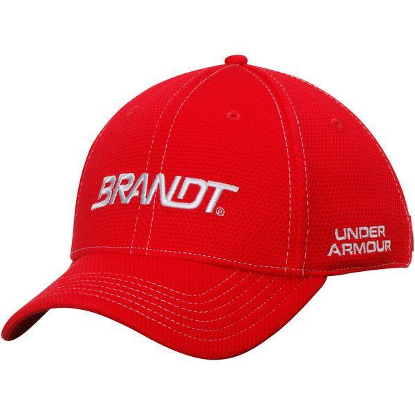 Justin Allgaier Under Armour Brandt Performance Pit Crew Adjustable Hat - White - $27.99