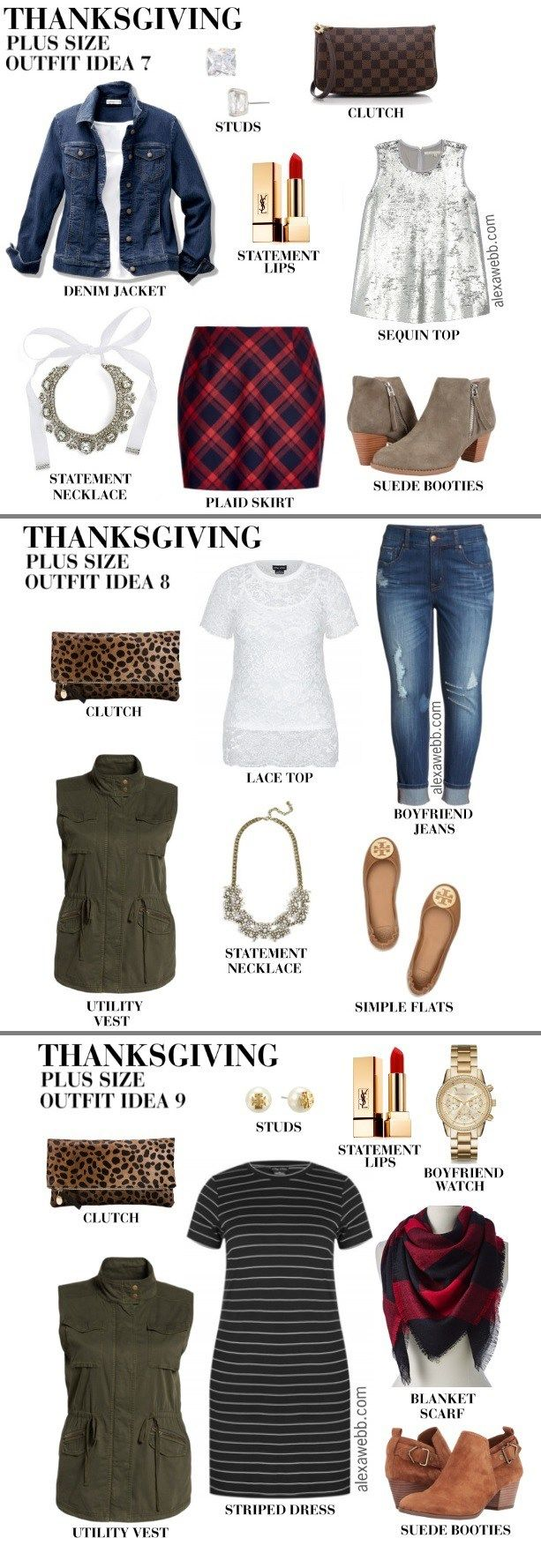 Plus Size Thanksgiving Outfits - Plus Size Holiday Outfit - Plus Size Fall Outfits - Plus Size Fashion for Women - alexawebb.com #alexawebb #plussize