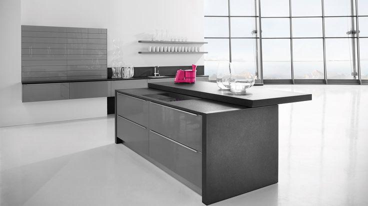 Designové kuchyně - 5020 LÁVOVÁ ŠEDÁ