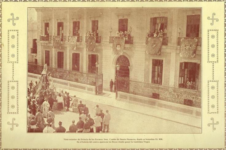 Palacio de los Condes de Puerto Hermoso, hoy Comisaria de Policia Nacional.