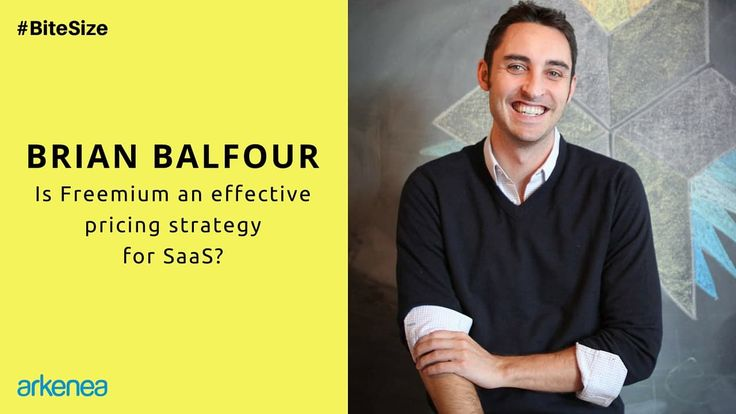 Brian Balfour On Whether Freemium Is A Good Pricing Strategy For SaaS #BiteSize