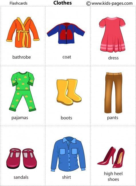 Clothes 1 flashcard