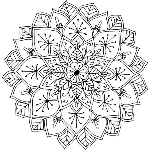 this mandala was drawn while the artist was camping near hopetoun victoria australia mandala coloring pagesfree