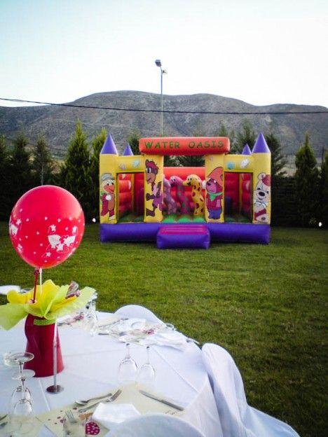 Φουσκωτό σε παιδικό πάρτι