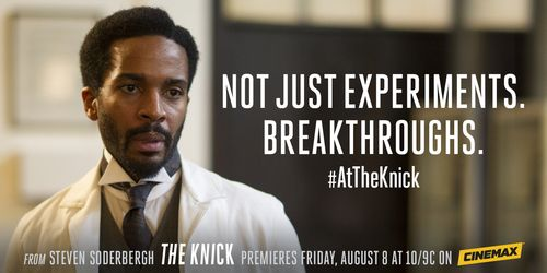 #theknick not just experiments! Breakthroughs!