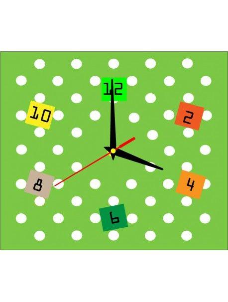 Klebstoff Wanduhr - BORR, Farbe: hellgrün , schwarz Hände Artikel-Nr.:  X0005-RAL6018-Ručičky čierne Zustand:  Neuer Artikel  Verfügbarkeit:  Auf Lager  Die Zeit ist reif für eine Veränderung gekommen! Dekorieren Uhr beleben jedes Interieur, markieren Sie den Charme und Stil Ihres Raumes. Ihre Wärme in das Gehäuse mit der neuen Uhr. Wanduhr aus Plexiglas sind eine wunderbare Dekoration Ihres Interieurs.