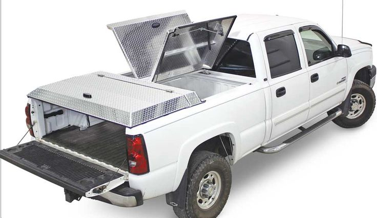 DiamonBack 270 truck bed cover with elevated 4 inch profile