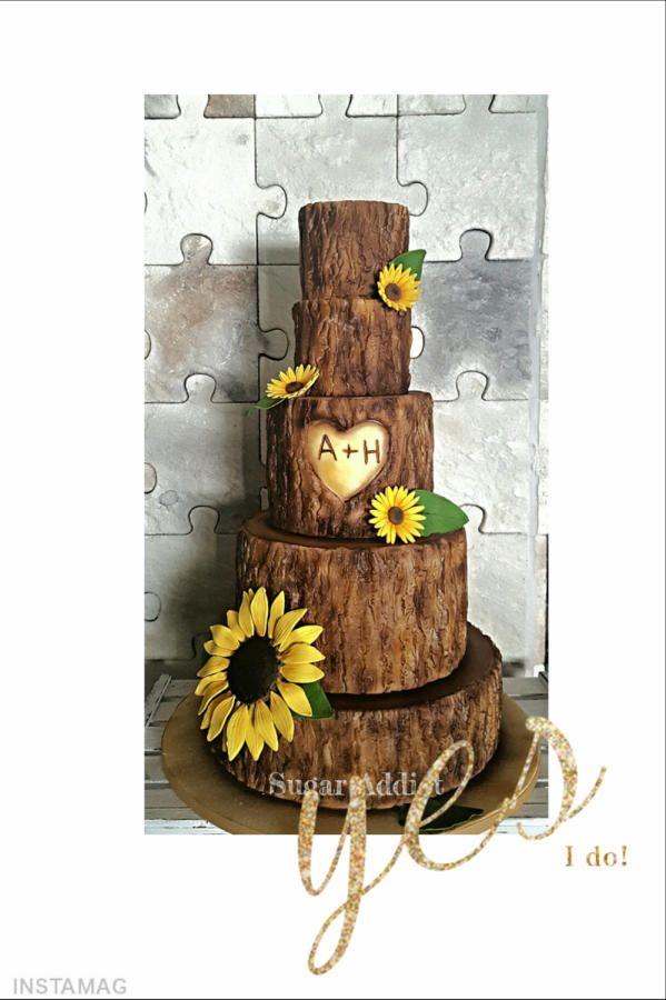 sunflower by Sugar Addict by Alexandra Alifakioti