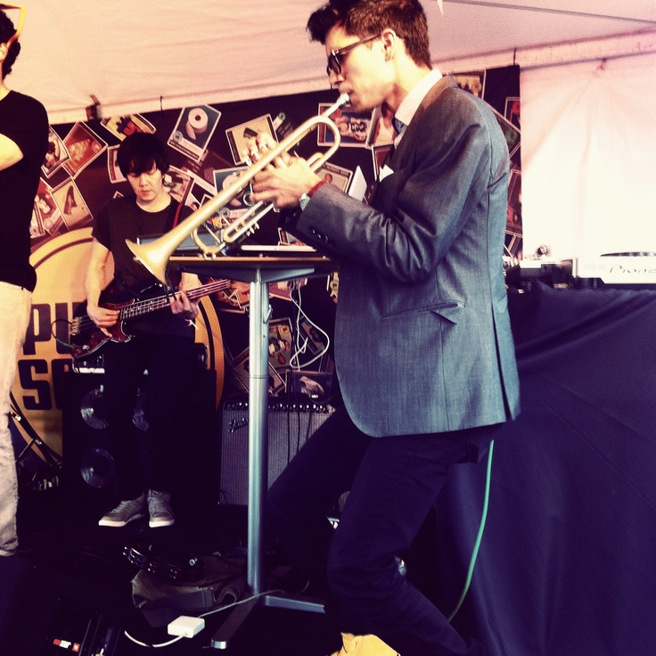Trumpet Player for Capital Cities