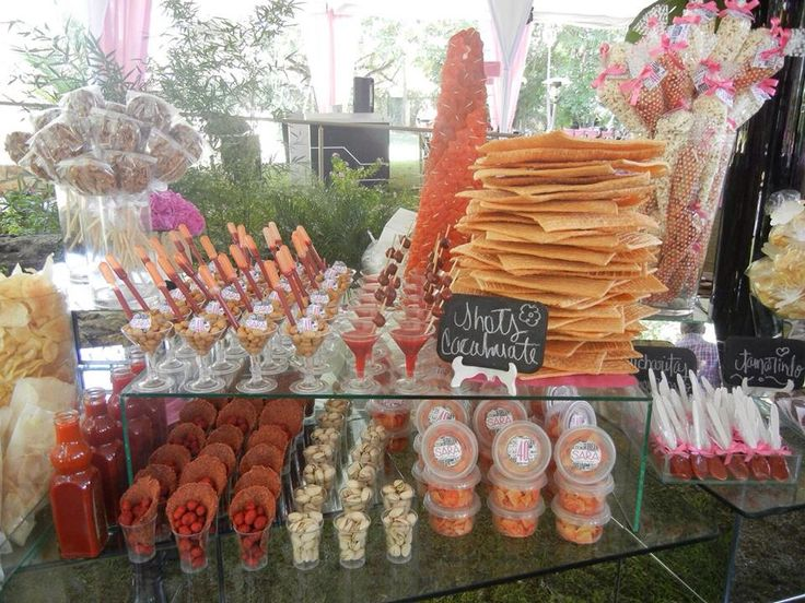 74 best images about candybar salado chilli on pinterest for Ideas para mesas dulces