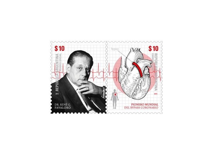 Dr. René G. Favaloro- Pionero mundial del bypass coronario -   René Gerónimo Favaloro nació en La Plata en 1923. Cuando cursaba tercer año en la Facultad de Ciencias Médicas de la Universidad Nacional de La Plata comenzó a concurrir al Hospital Policlínico y al tomar contacto por primera vez con los pacientes su vocación se afianzó y se profundizó.