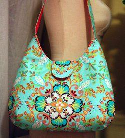 Seriously cool handbag! tutorial/pattern here: http://artsycraftybabe.typepad.com/tutorials/phoebe_bag.pdf
