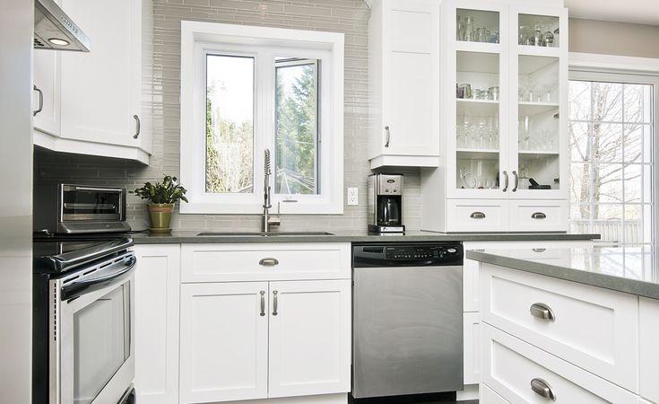 Cuisine milano armoires novaro cuisines et salles de for Armoire de cuisine usage