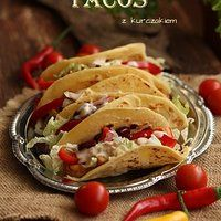 Domowe Tacos z kurczakiem