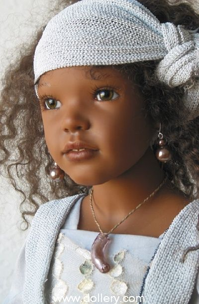 african american child doll