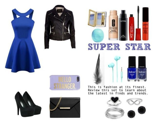 """Sin título #8"" by barbiieaa on Polyvore featuring Londontown, Estée Lauder, River Island, Merkury Innovations, NYX, Anne Klein, Worthington, Jewel Exclusive, Kate Spade and MAC Cosmetics"