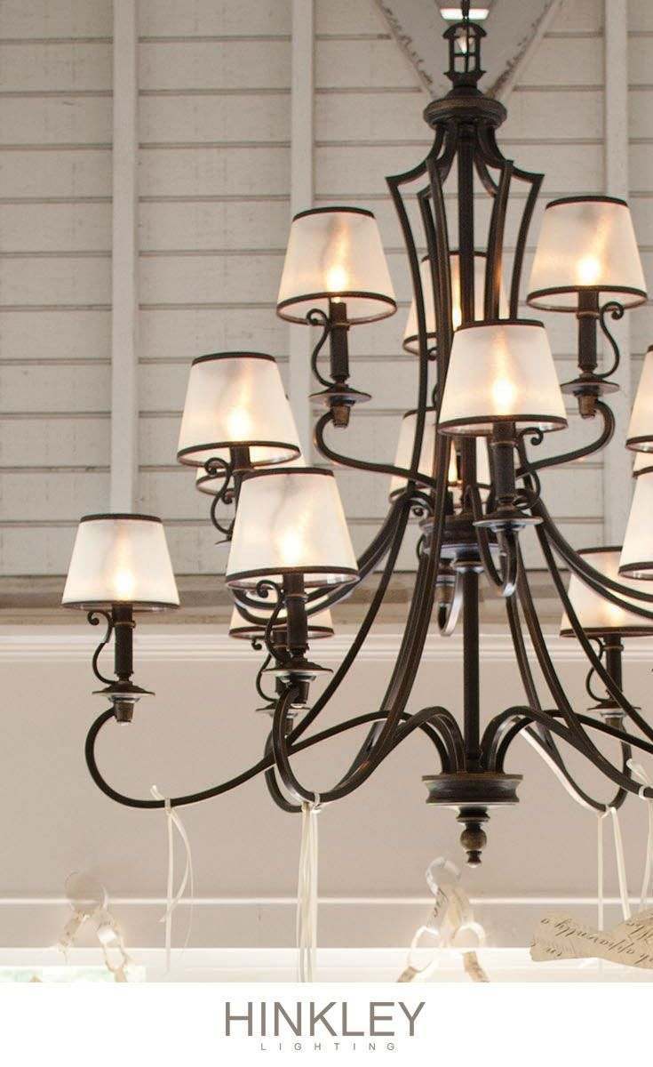 222 best chandelier chic images on pinterest chandelier hinkley lightings plymouth chandelier proves classic never goes out of style del mar fans arubaitofo Gallery