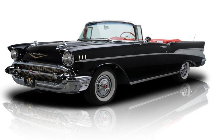Cool Amazing 1957 Chevrolet Bel Air/150/210 -- 1957 Chevrolet Bel Air  2,556 Miles Onyx Convertible 283 V8 2 Speed Automatic 2017/2018