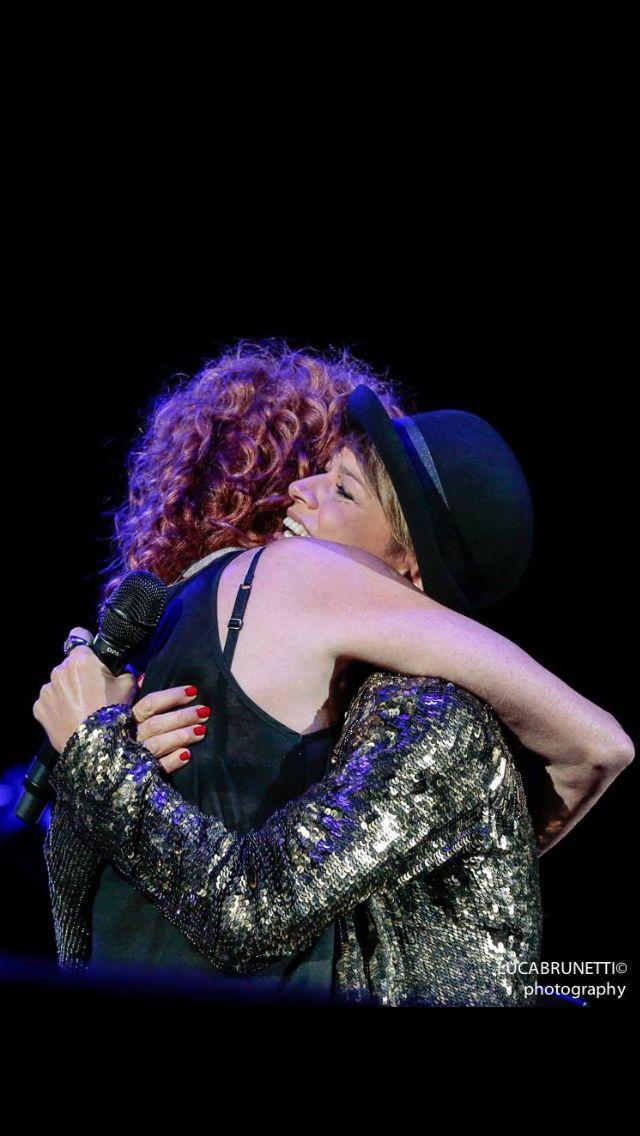 Due grandi donne, due grandi artiste, un abbraccio, mille emozioni! ❤️