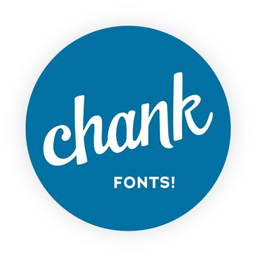 Chank Fonts! Back in the mid 90's, when us internet users were far less common, Chank fonts were the bomb. He is still making awesome fonts!