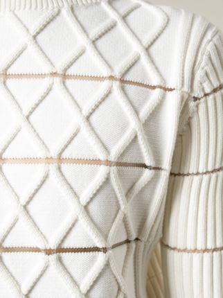 Kenzo 멀티 패턴 니트 스웨터