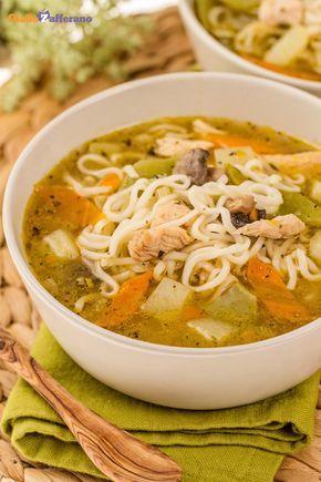 La zuppa di #noodles è un piatto ricco e completo tipico della cucina orientale.