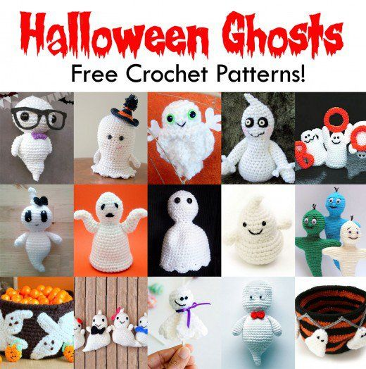 This article features the best free crochet patterns for Halloween ghosts that internet has to offer. Crochet these free Halloween ghost patterns for yourself or to give away as presents!