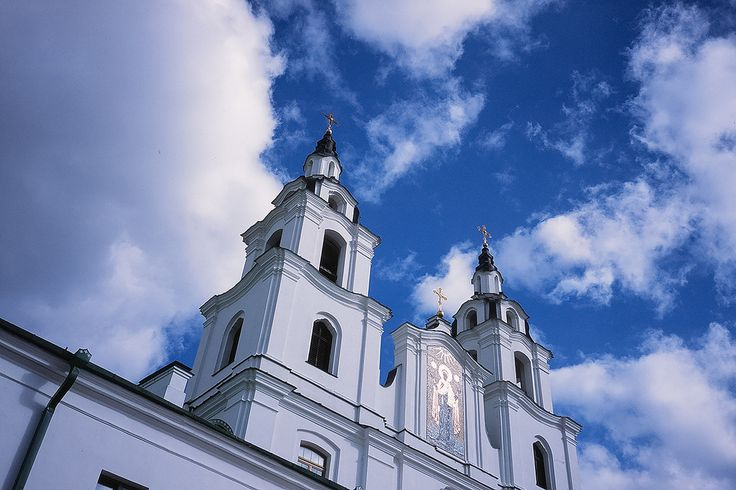 https://flic.kr/p/AZdvcR | Cathedral of Holy Spirit in Minsk | Cathedral of the Descent of the Holy Spirit — (Belarusian: Кафедральны сабор Сашэсця Святога Духа) in Minsk, Belarus is dedicated to the Holy Spirit. It is the central cathedral of the Belarusian Orthodox Church.  The cathedral dates back to 1633-1642, when the Bernardine monastery was built, at a time when the city was in centre of the Polish–Lithuanian Commonwealth. The building was damaged by fire in 1741 and required the…
