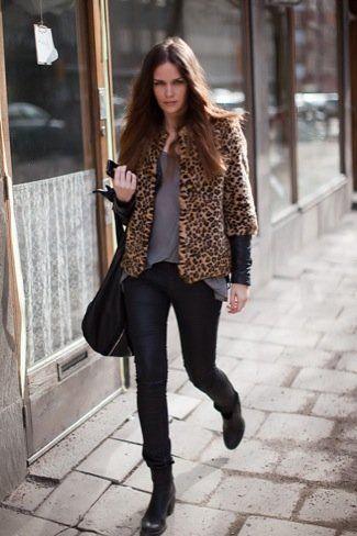 Caroline Blomst / Cheetah Print Fur