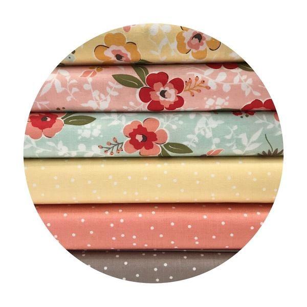 6 Fat Quarter Bundle - Sweet Prairie Collection - Riley Blake Designs – Pins & Needles Fabrics