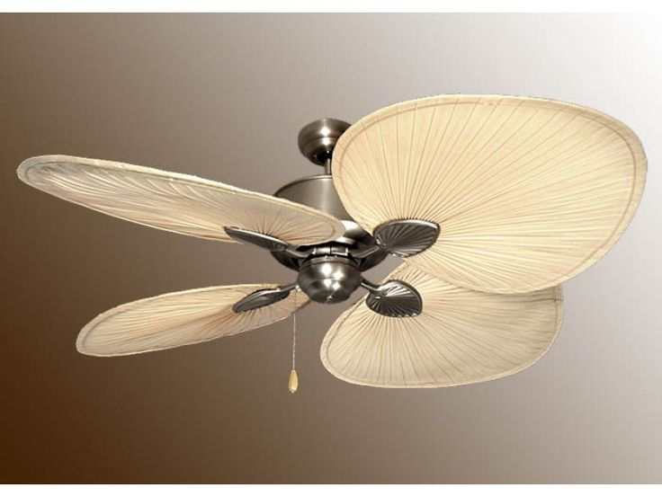 "Palm Ceiling Fan, Tropical Ceiling Fans, 56"" Island Breeze II Fan"