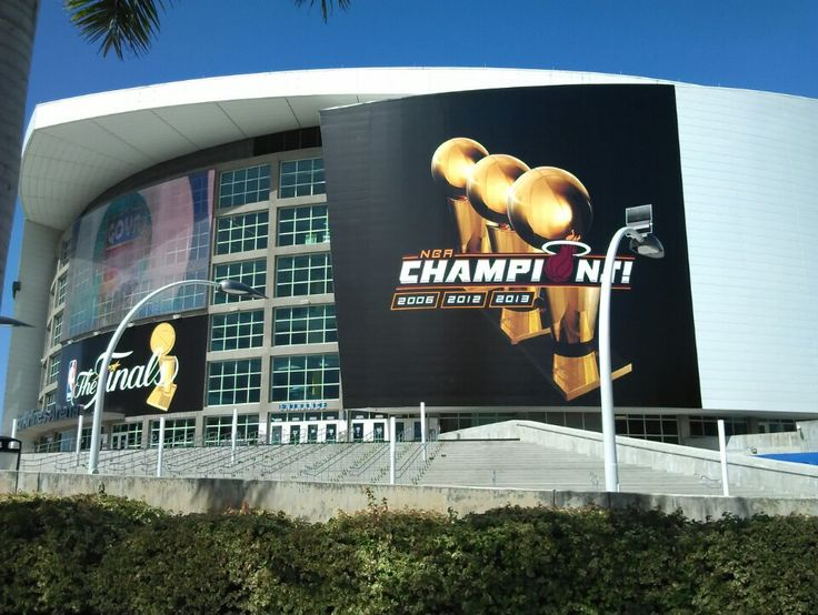 "I've ever wanted to watch an NBA Finals game at the triple-A ""AAA"" (American Airlines Arena) in Miami, FL - The Home of the Miami Heat!"