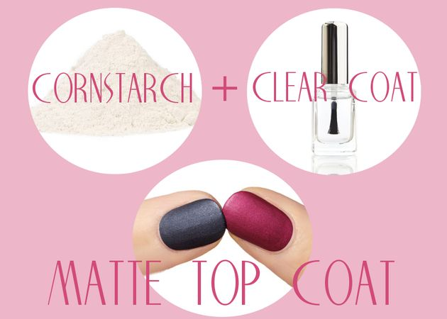 Create your own matte polish 19 Nail Hacks That You Will Be Glad To Know