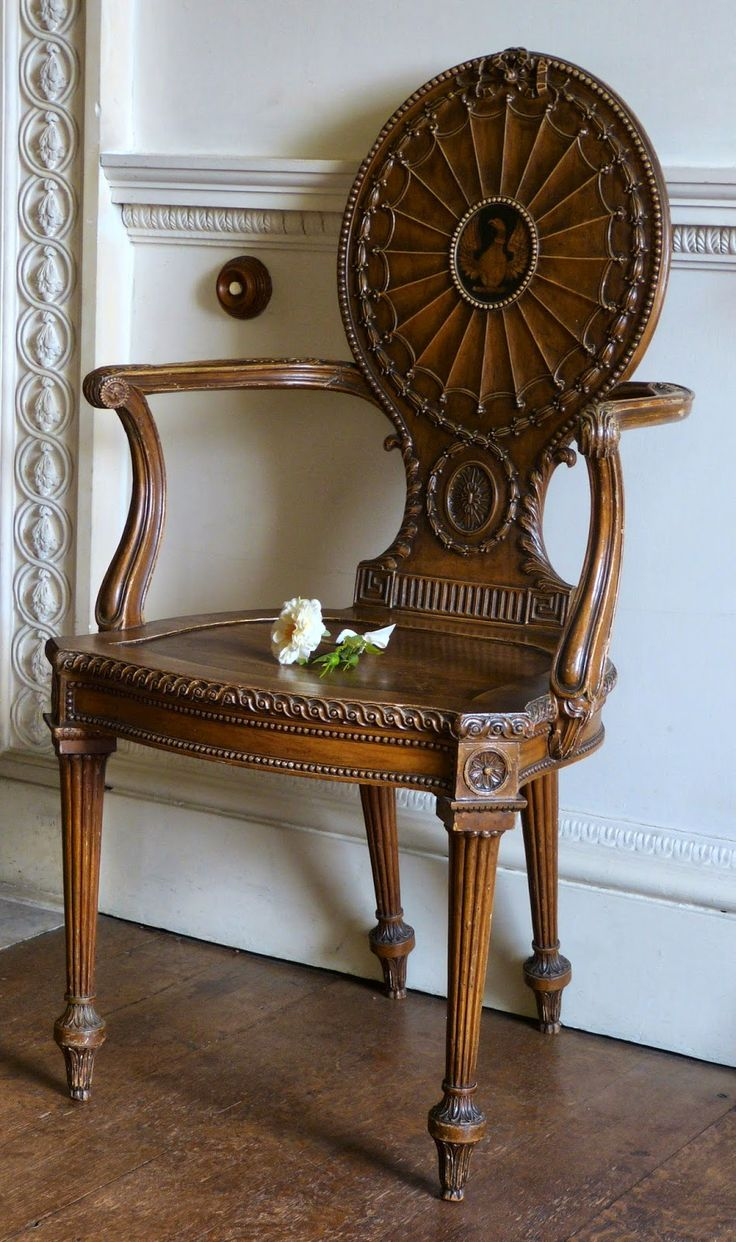 Authentic chippendale chairs - Nostell Priory A Regency History Guide