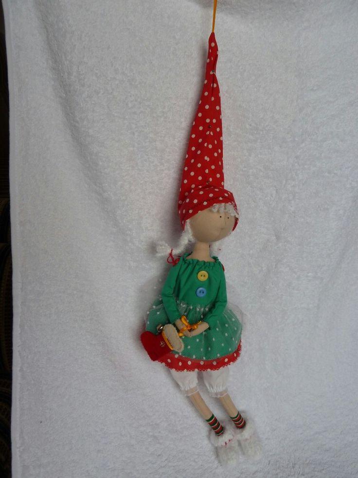 Рождественский эльф ... Christmas elf  ... Ростик  38 см.