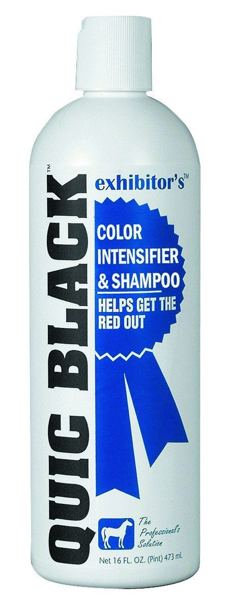 Quic Black Color Intensifier And Horse Shampoo