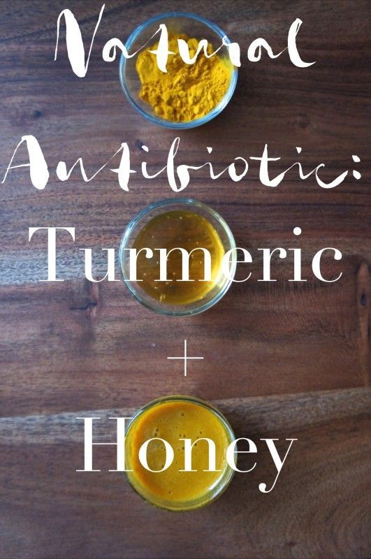 A DIY Natural Antibiotic Recipe using Turmeric and Honey from a Naturopathic Doctor on Simple Medicine