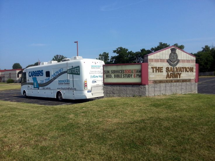 Video Jobs truck at Salvation Army Local Home http