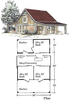 Image result for barn layout for multiple animals