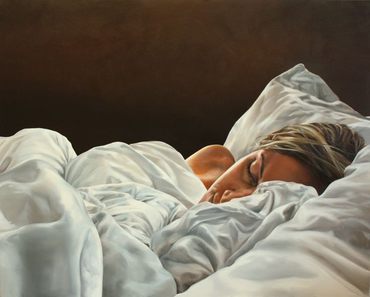 #Eric Zener - Paintings - Sleep