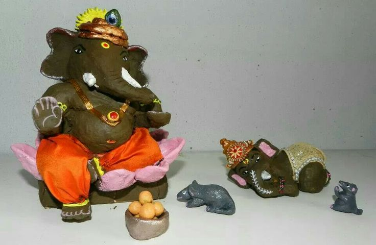 Hand made Ganesh