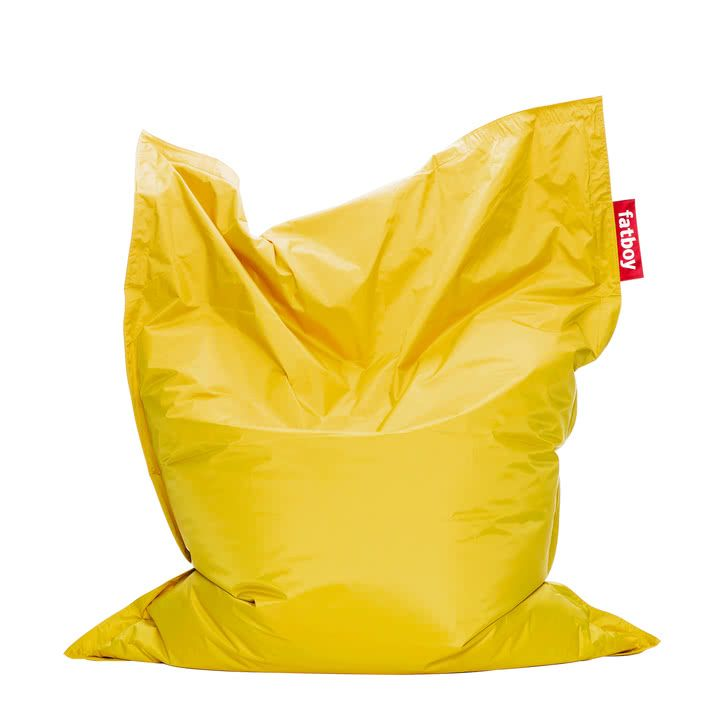 Fatboy   Sitzsack Original, Yellow