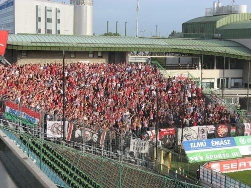 Diósgyőr szurkolók a Ferencváros elleni mérkőzésen (2012. szeptember 30.)
