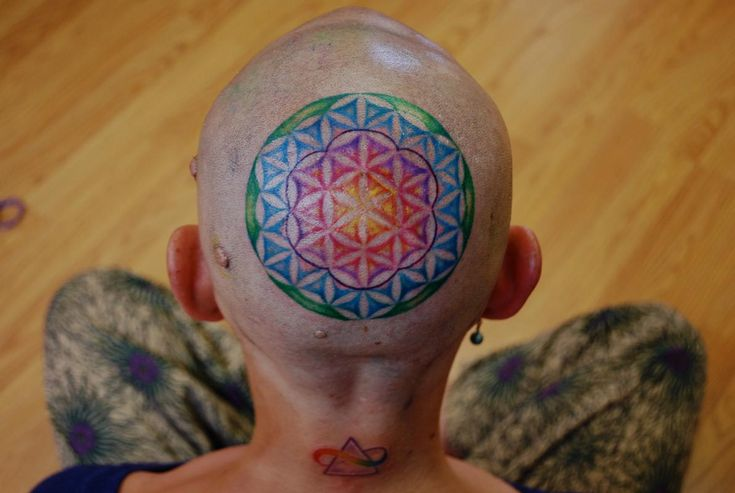 ... the Map Tattoo : Tattoos : Mallory Johnstone : Flower of Life tattoo
