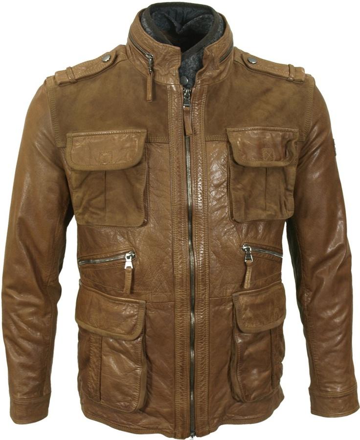 Hugo Boss Leather Jacket Brown [Phaedra's Leather Jacket