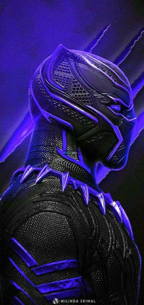 Black Panther Wallpaper 4k Iphone 3d Wallpapers Black Panther Marvel Black Panther Hd Wallpaper Black Panther