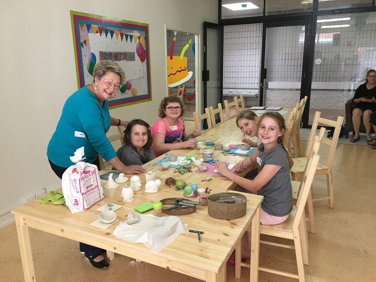 Clay Creations Class | Colour My Pot #pinchpots #kidsactivity #clay #holidays #schoolholidayfun #colourmypot https://plus.google.com/photos/118203478378317304508/albums/6436561644468139345?authkey=CODMpqvD48W1lQE